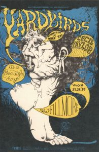 1968 05 - YARBIRDS FILLMORE AUD SF CA