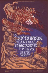 1968 08 - CHAMBERS BROTHERS FILLMORE WEST SF CA