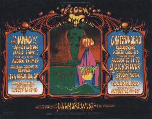 1968 08 - WHO FILLMORE WEST SF CA