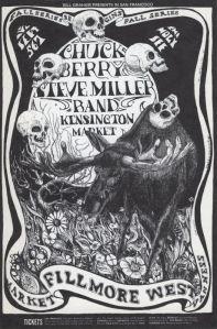 1968 09 - CHUCK BERRY FILLMORE WEST SF CA