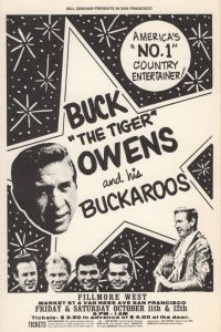 1968 10 - BUCK OWENS FILLMORE WEST SF CA