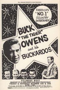 1968 10 - BUCK OWENS FILLMORE WEST SF CA