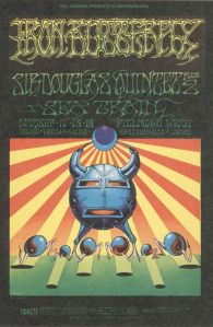 1968 10 -IRON BUTTERFLY FILLMORE WEST SF CA