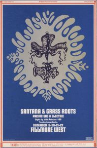 1968 12 - GRASSROOTS FILLMORE WEST SF CA