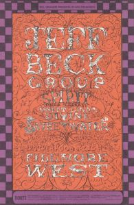 1968 12 - JEFF BECK GROUP FILLMORE WEST SF CA