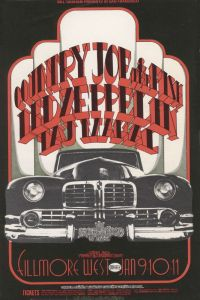 1969 01 - COUNTRY JOE & FISH FILLMORE WEST SF CA