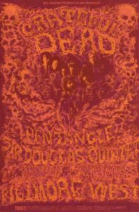 1969 02 - GRATEFUL DEAD FILLMORE WEST SF CA