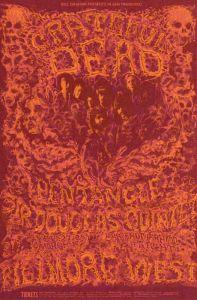 1969 02 - GRATEFUL DEAD FILLMORE WEST SF CA
