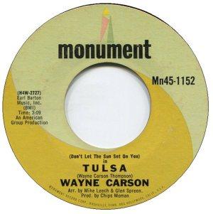 1969 04-2 - CARSON SINGS A