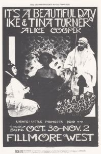 1969 10 - IT'S A BEAUTIFUL DAY FILLMORE WEST SF CA