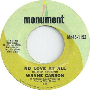 1970 02 - CARSON SINGS A