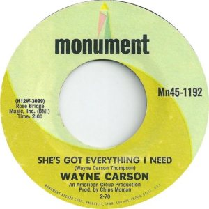 1970 02 - CARSON SINGS B