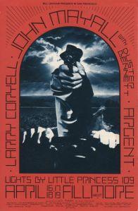 1970 04 - JOHN MAYALL FILLMORE WEST SF CA