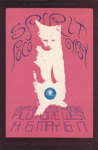 1970 05 - SPIRIT FILLMORE WEST SF CA