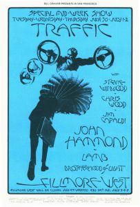 1970 06 - TRAFFIC FILLMORE WEST SF CA
