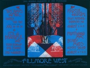1970 07 - TEN YEARS AFTER FILLMORE WEST SF CA