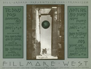 1970 08 - BYRDS FILLMORE WEST SF CA