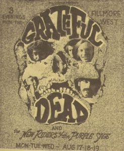 1970 08 - GRATEFUL DEAD FILLMORE WEST SF CA