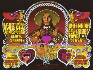 1970 11 - LOVE FILLMORE WEST SF CA