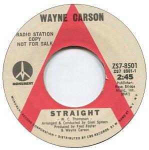 1971 02 - CARSON SINGS A