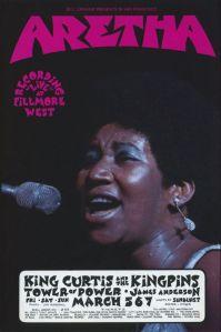 1971 03 - ARETHA FRANKLIN FILLMORE WEST SF CA