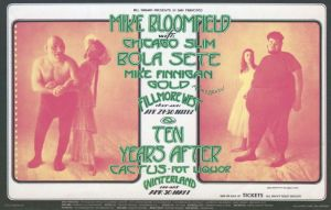 1971 04 - MIKE BLOOMFIELD FILLMORE WEST SF CA