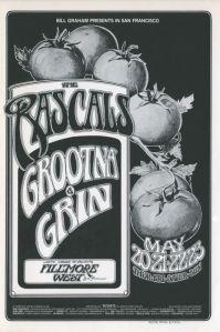 1971 05 - RASCALS FILLMORE WEST SF CA