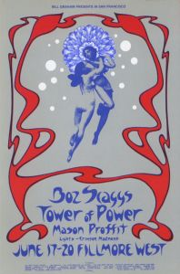 1971 06 - BOZ SCAGGS FILLMORE WEST SF CA