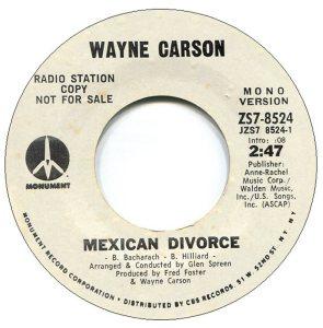 1971 08 - CARSON SINGS A