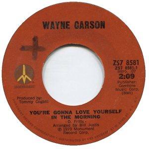 1973 08 - CARSON SINGS A