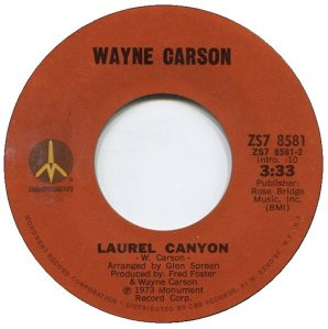 1973 08 - CARSON SINGS B