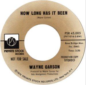 1974 12 - CARSON SINGS A