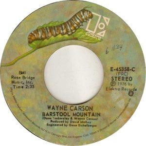 1976 11 - CARSON SINGS A