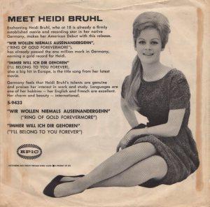 BRUHL HEIDI - 1960 12 B