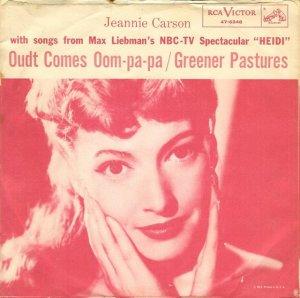 CARSON JEANNIE - 1955 09 A