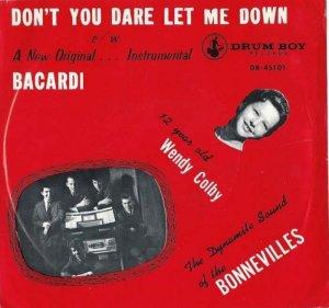 COLBY WENDY & BONNEVILLES - 1963