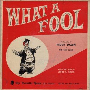 DAWN PEGGY - 1960'S 01 B