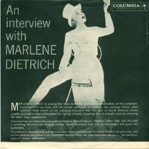 DIETRICH MARLENE - 1960 03 A
