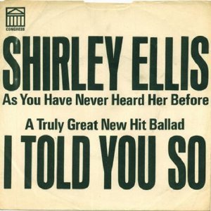 ELLIS SHIRLEY - 1965 03 B