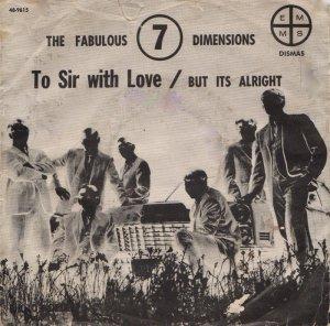 FABULOUS SEVEN DIMENSIONS - 1960'S 01 A