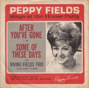 FIELDS PEPPY - 1960'S 1
