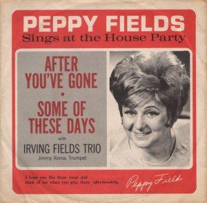 FIELDS PEPPY - 1960'S 1
