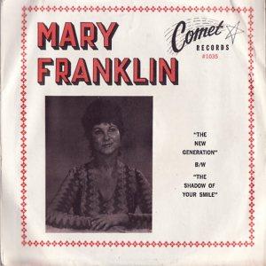 FRANKLIN MARY - 1960'S 01 A