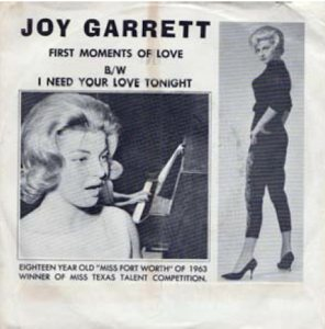 GARRET JOY - 1963 11 B