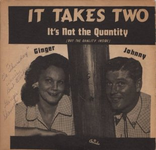 GINGER AND JOHNNY - 1950'S 01 A