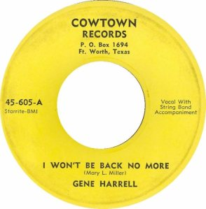 HARRELL GENE - COWTOWN 01
