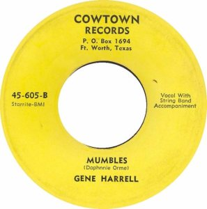HARRELL GENE - COWTOWN 02
