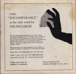 HILDEGARDE - 1968 01 B
