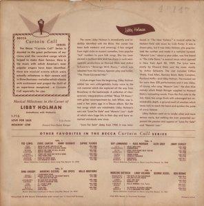 HOLMAN LIBBY - 1953 01 B