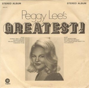 LEE PEGGY - 1971 01 A